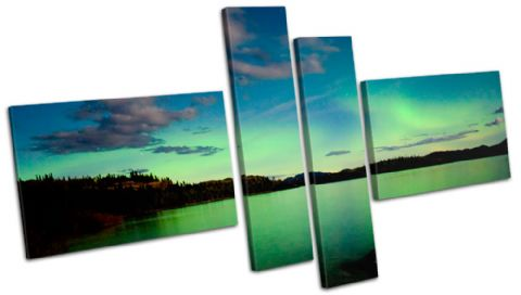 Northern Lights Night View Space - 13-0166(00B)-MP08-LO